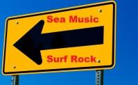 Sea Music Surf Rock Arrow