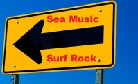 Sea Music Surf Rock Arrow