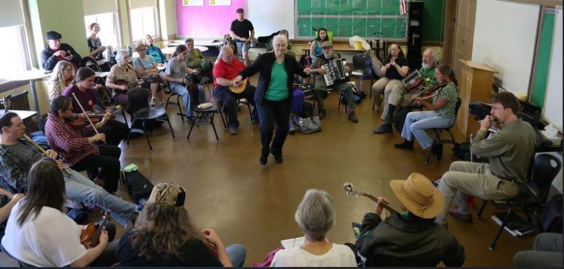 SF Folk Fest Irish Session Workshop Photo