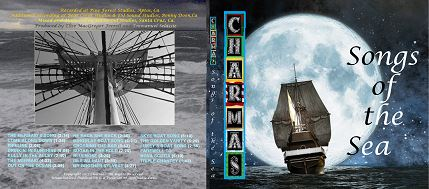Front and Back CD Cover Songs of the Sea
