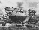 old-logging-ship-under-repair